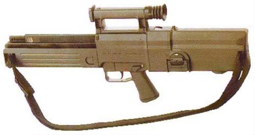 Германская автоматическая винтовка G11 использующая автоматику с накоплением импульса так и не пошла в серию из-за высокой стоимости