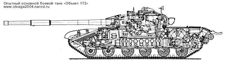 Опытный средний танк Объект 172