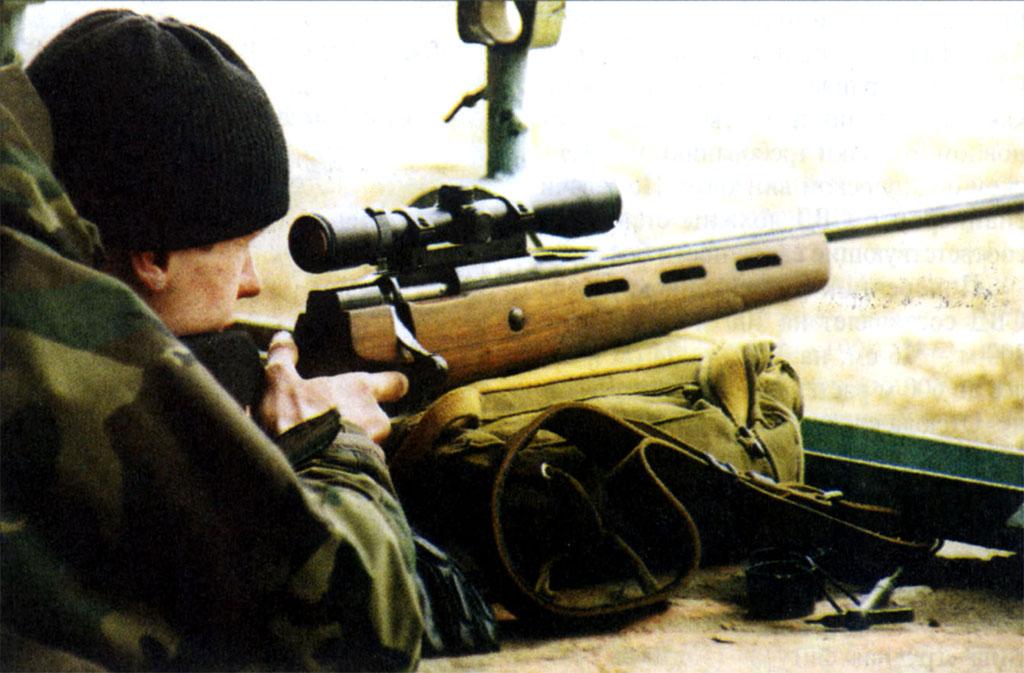 Бывшие спортивные винтовки со скользящим затвором постепенно доходят до снайперов спецподразделений