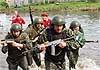 Спецназовцы в жесткой битве за краповый берет