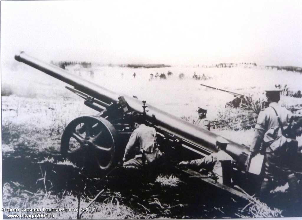 15-см гаубицы «Тип 89» в японской армии (фото из музейной экспозиции)
