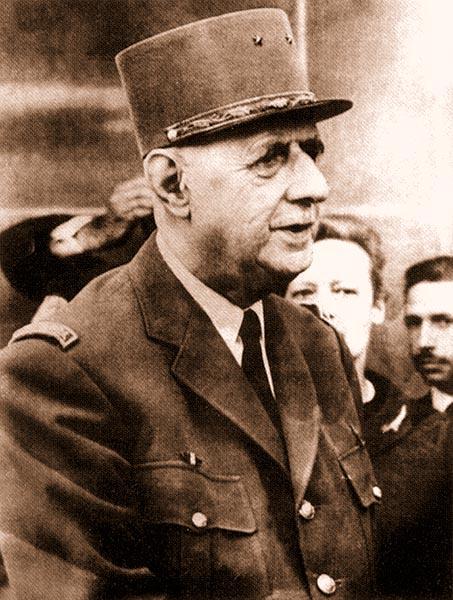 Президент Шарль де Голль, пришедший к власти под лозунгом: «Алжир – французский!»