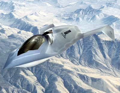 Рис. 1. Boeing «Bird of Prey»