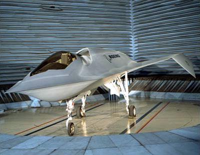 Рис. 7. Носовая часть Boeing «Bird of Prey», играющая роль ПГО