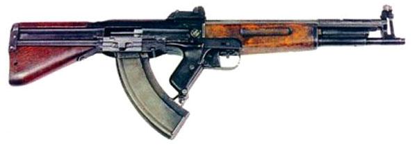 Опытные образцы 7,62-мм автомата Коробова ТКБ-408-2 «Бычок»