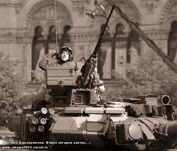 Танк Т-90А с прицелом «Эсса» и модернизированным комплексом ТШУ