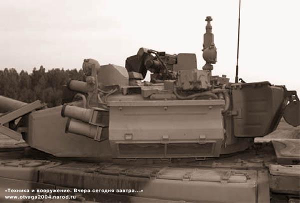 Установка термоэлектрического кондиционера на башне танка Т-90СА