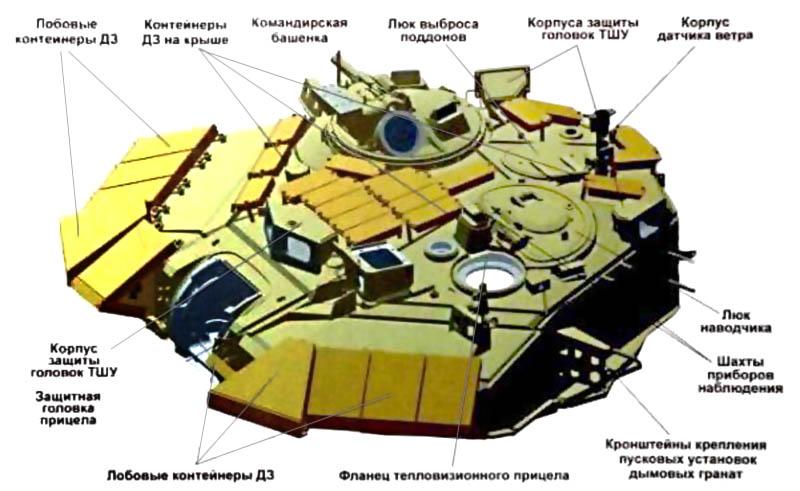 Башня сварной конструкции танков Т-90С / А / СА