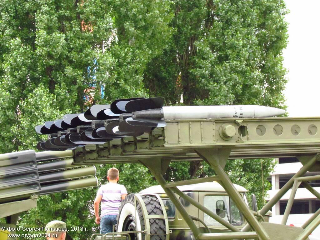 Реактивные снаряды знаменитой «Катюши»