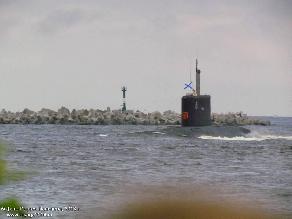 Дизельная подводная лодка проекта 877