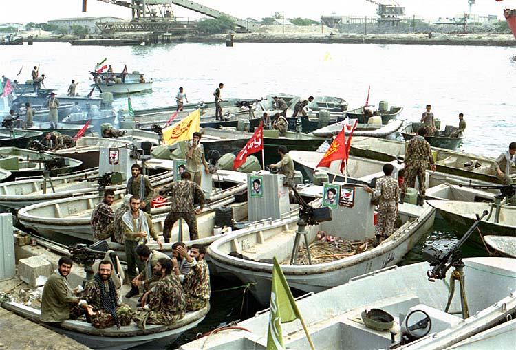 База иранского «москитного флота»