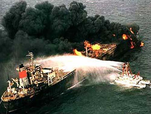 Еще один танкер, подвергшийся нападению в Персидском заливе
