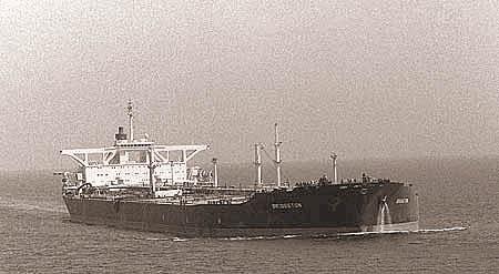 Танкер «Бриджтон» после ремонта. 22 августа 1987 г.