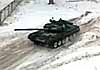 Дрифт на газотурбинном 44-тонном танке Т-80БВ - видео