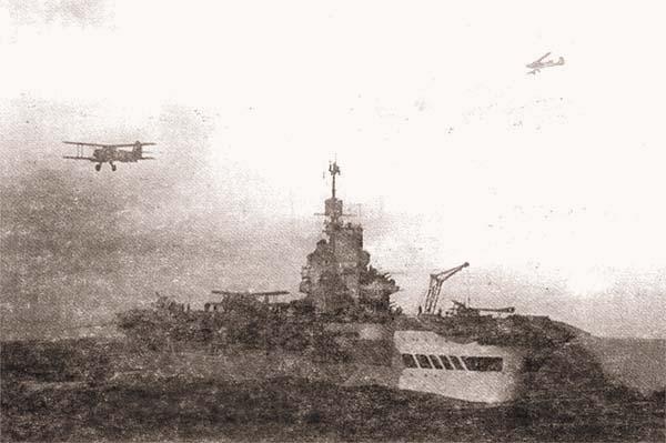 АВ «Victorious» вблизи берегов Норвегии