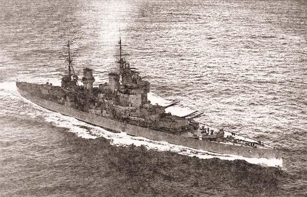 Британский ЛК «King George V»