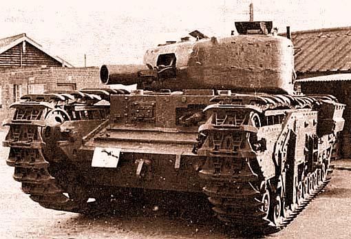 Бронированная инженерная машина «Черчилль» AVRE