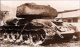 Т-34-85, сгоревший в бою 17 сентября