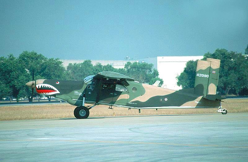 «Мини-ганшип» AU-23A