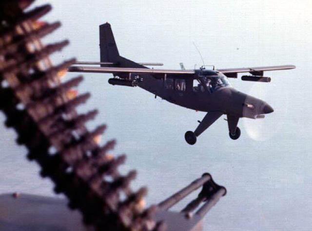 «Мини-ганшипы» AU-24A в полете