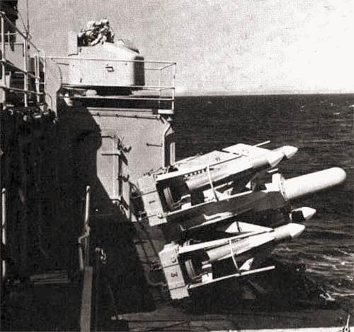 Корабельный ЗРК GWS-22 «Си Кэт» («Sea Cat»)