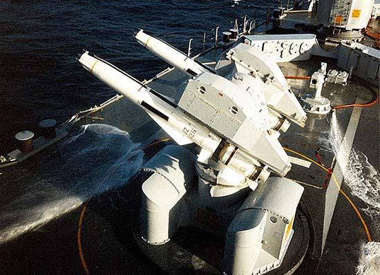 Корабельный ЗРК GWS-30 «Си Дарт» («Sea Dart»)