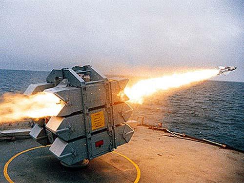 Корабельный ЗРК GWS-25 «Си Вулф» («Sea Wolf»)