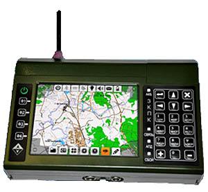 Защищенный командирский ПК предназначен для решения задач управления и ориентирования в тактическом звене младшего командного состава.