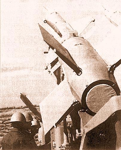На боевой позиции египетского ЗРК С-125