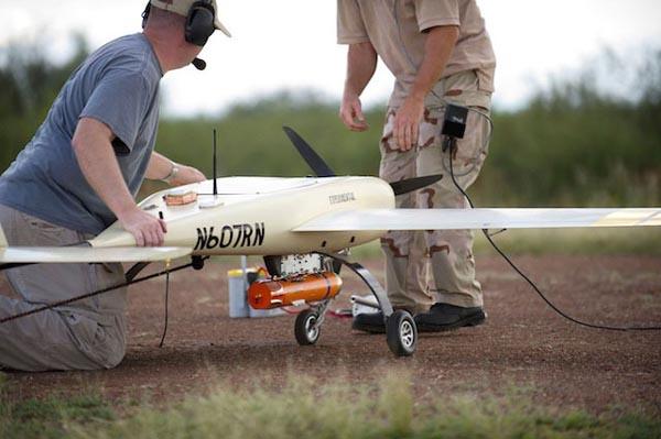 Подготовка БЛА к полету с УАБ STM Phase II