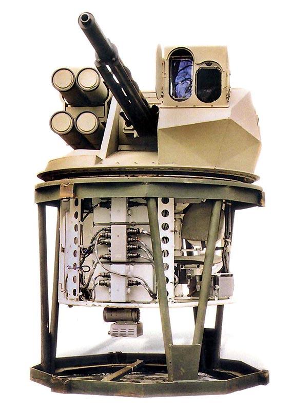 Боевой модуль ТКБ-799 «Кливер» с подбашенным отделением
