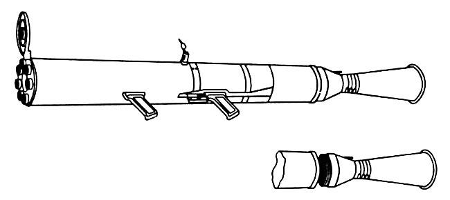 Пусковое устройство зенитной системы «Колос»