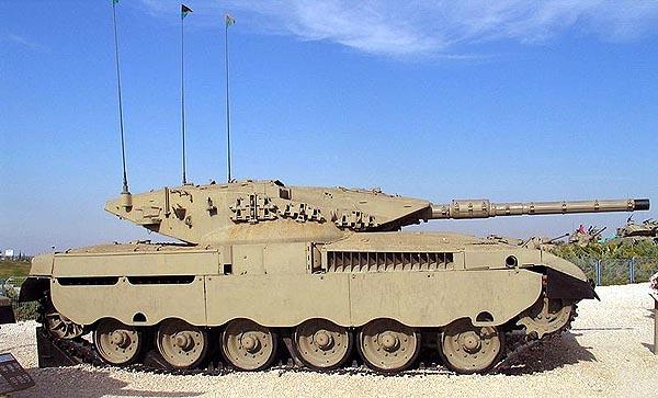 Серийный танк «Меркава» Mk.1