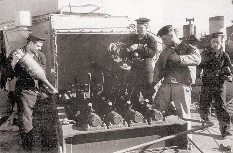 Многоствольный бомбомет МБУ-200