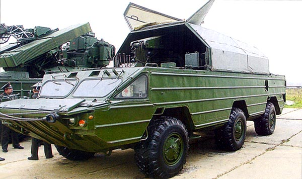 Транспортно-заряжающая машина ЗРК «Оса-АКМ»