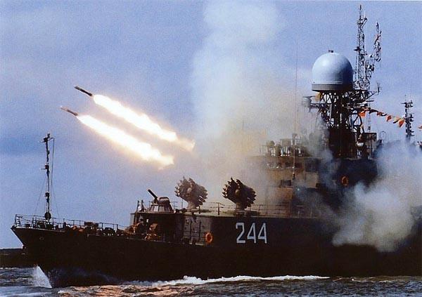 Стрельба из РБУ-6000
