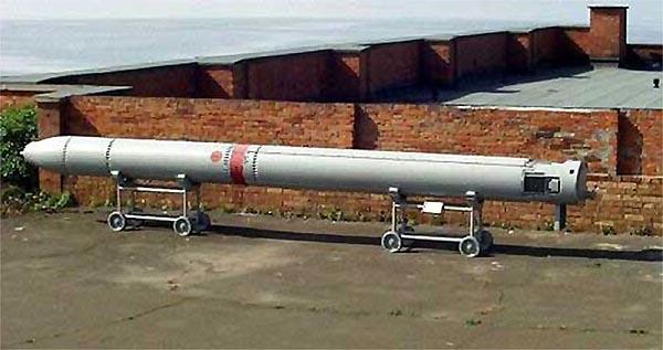 Твердотопливная ракета 81Р комплекса РПК-2 «Вьюга»