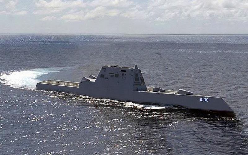 Американский перспективный эсминец «Zumwalt»