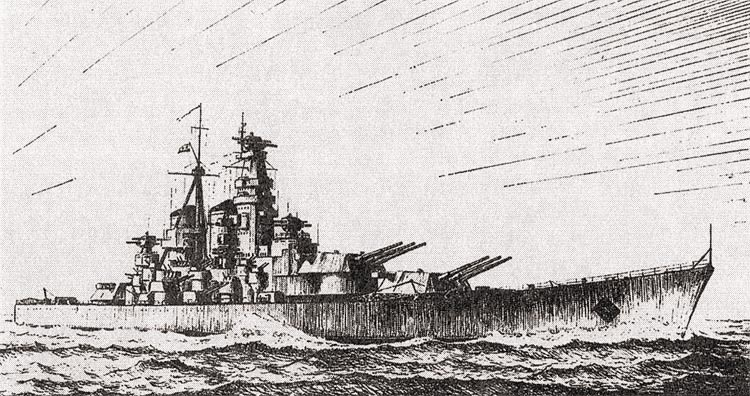 Линкор «Советский Союз» пр.23 (эскиз)