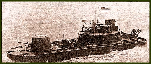 От южновьетнамских мониторов американские отличались усиленным вооружением – установкой спарки пулемета с минометом за башней с 40-мм пушкой, одним 20-мм орудием и двумя 12,7-мм пулеметами на надстройке