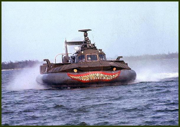 Монстры 107-го дивизиона – корабли на воздушной подушке  SK-5
