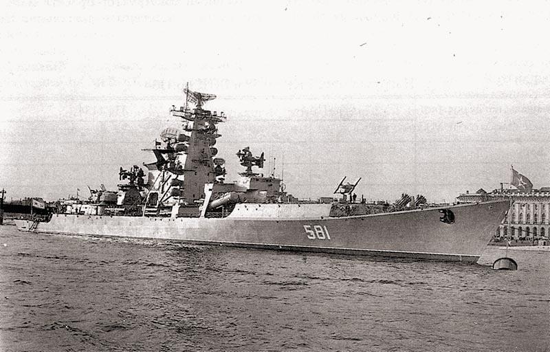 БПК «Адмирал Зозуля». Ленинград, ноябрь 1967 г.