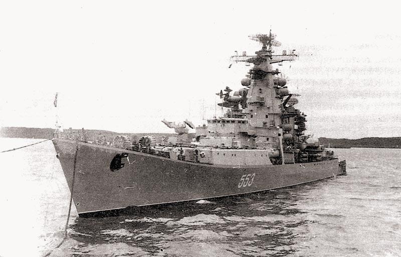 БПК «Вице-Адмирал Дрозд», Северный флот, 1970-е гг.