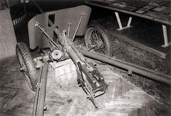 Пушка ЛПП-25 в музее Артиллерийской академии имени Петра Великого