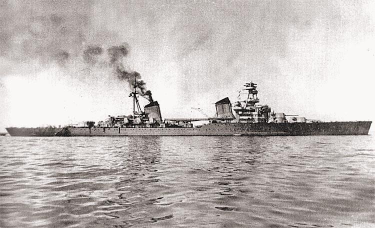 Крейсер «Киров» накануне войны