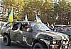 Украинские голубые береты будут воевать на инкассаторских микроавтобусах