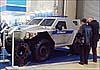В Москве показали новейший штурмовой плавающий бронеавтомобиль «Ансырь»