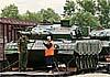На танковый биатлон китайцы привезли танки с облегченными шасси