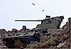 Сирийский фронт российских бронетранспортеров БТР-80 и БТР-82