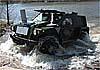 Уникальные фотоматериалы испытаний на плаву новейшего российского штурмового бронеавтомобиля «Ансырь»